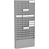 MMF27018JTRGY - MMF Time Card 54 Pocket Message Racks