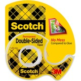 MMM136 - Scotch Double-Sided Tape w/Dispensers
