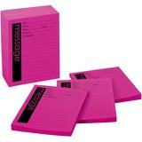 "Post-it Telephone Message Pad - 50 Sheet(s) - 3.87"" x 5.87"" Sheet Size - Pink Sheet(s) - 12 / Pack MMM7662"