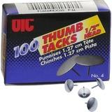 OIC92914 - OIC Steel Thumb Tacks