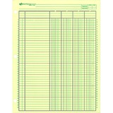 """Rediform National Side Punched Analysis Pad - 50 Sheet(s) - Gummed - 11"""" x 8.50"""" Sheet Size - 3 x Ho RED45604"""