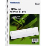 RED51114 - Rediform Follow-Up Voice Mail Log Book