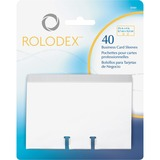 Rolodex Business Card File Refill Sleeves