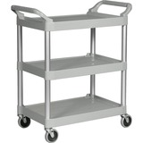 RCP342488PM - Rubbermaid 3-Shelf Utility Service Cart