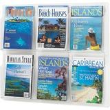 SAF5607CL - Safco 6-Pocket Magazine/Literature Dis...