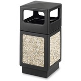 SAF9472NC - Safco Indoor/outdoor Square Receptacles