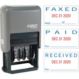 XST40330 - Xstamper Self-Inking Paid/Faxed/Received Dat...