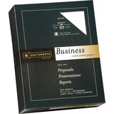 "Southworth 100% Cotton Business Paper - Letter - 8.50"" x 11"" - 24 lb Basis Weight - Recycled - 100%  SOU14C"