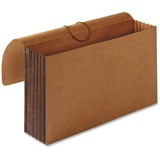 "Sparco Tyvek Accordion Wallet - Legal - 8 1/2"" x 14"" Sheet Size - 5 1/4"" Expansion - Brown - Recycle SPR26576"