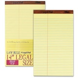 TOPS Perforated Traditional Grade Writing Pad - 50 Sheets - Printed - Double Stitched - 16 lb Basis  TOP75751