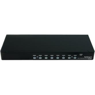 StarTech.com 8 Port 1U Rackmount DVI USB KVM Switch - 8 Port - 1U - Rack-mountable