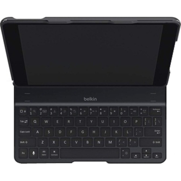 Belkin QODE Keyboard/Cover Case Folio for iPad Air - Black