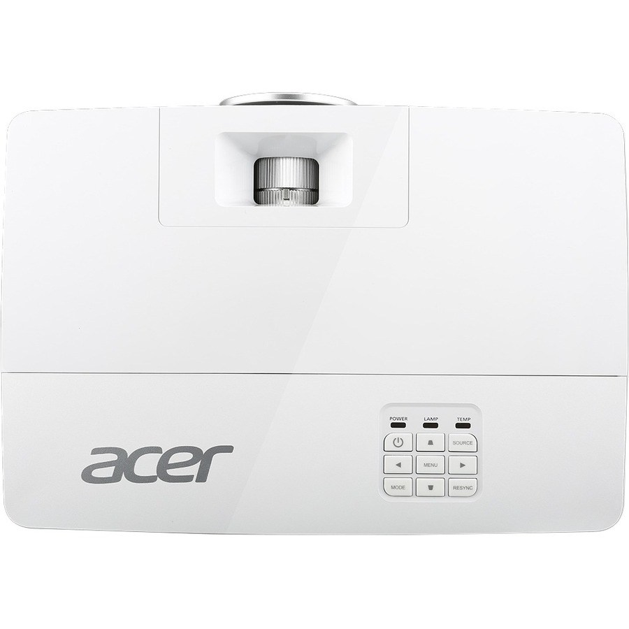 Acer X1385WH 3D Ready DLP Projector - HDTV - 16:10