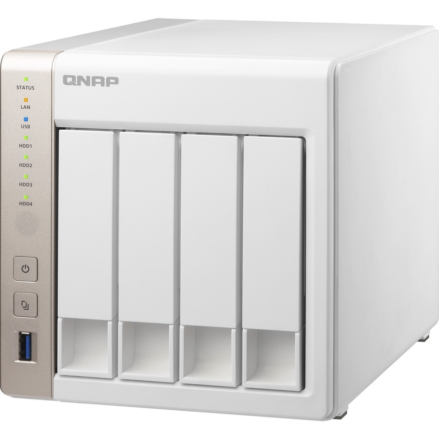 QNAP Turbo NAS TS-451 4 x Total Bays SAN/NAS Storage System - Tower - Intel Celeron Dual-core