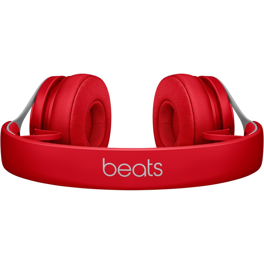 Beats by Dr. Dre EP Wired Stereo Headset - Over-the-head - Supra-aural - Red - Mini-phone