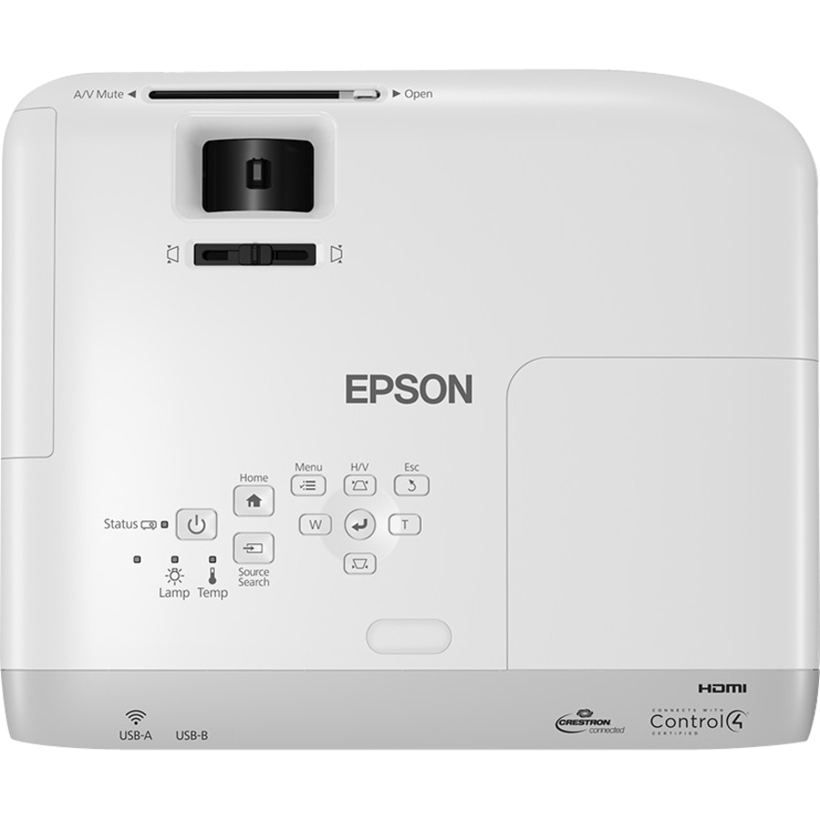 Epson EB-S39 LCD Projector - 4:3 - White, Grey - 800 x 600