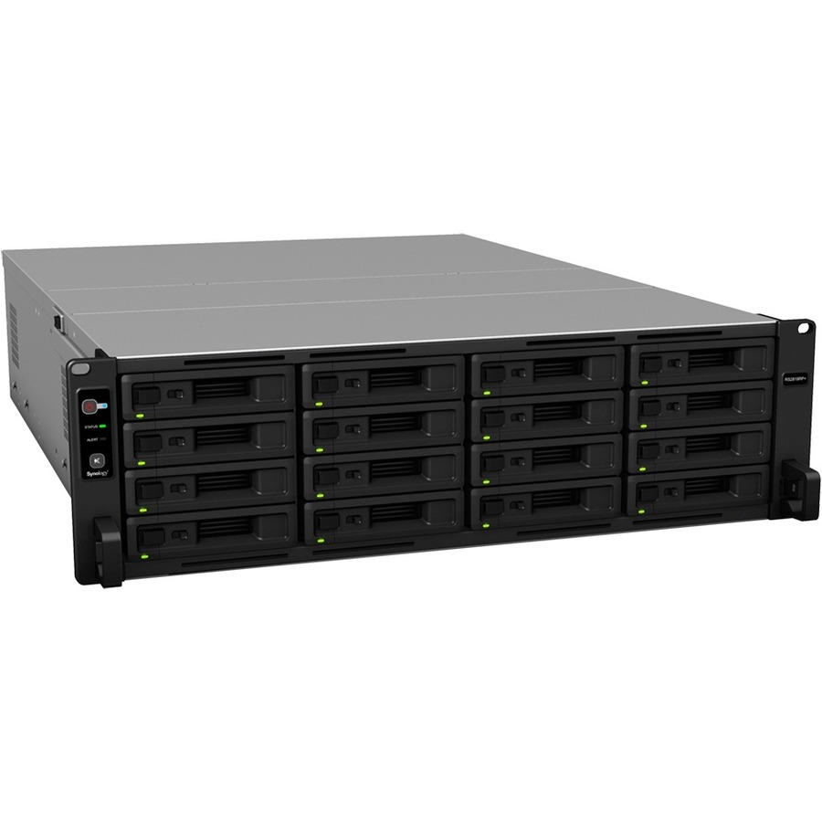 Synology RackStation RS2818RPplus 16 x Total Bays SAN/NAS Storage System - 3U - Rack-mountable - Intel Atom C3538 Quad-core 4 Core 2.10 GHz - 16 x HDD Supported - 192