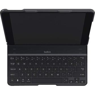 Belkin QODE Keyboard/Cover Case Folio for iPad Air - Black