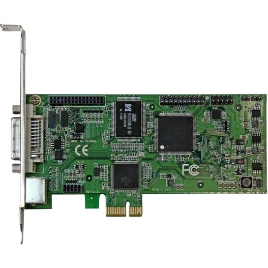 StarTech.com High-definition PCIe capture card - HDMI VGA DVI And component - 1080P at 60 FPS