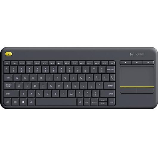 Logitech K400 Plus Black Wireless Media Keyboard