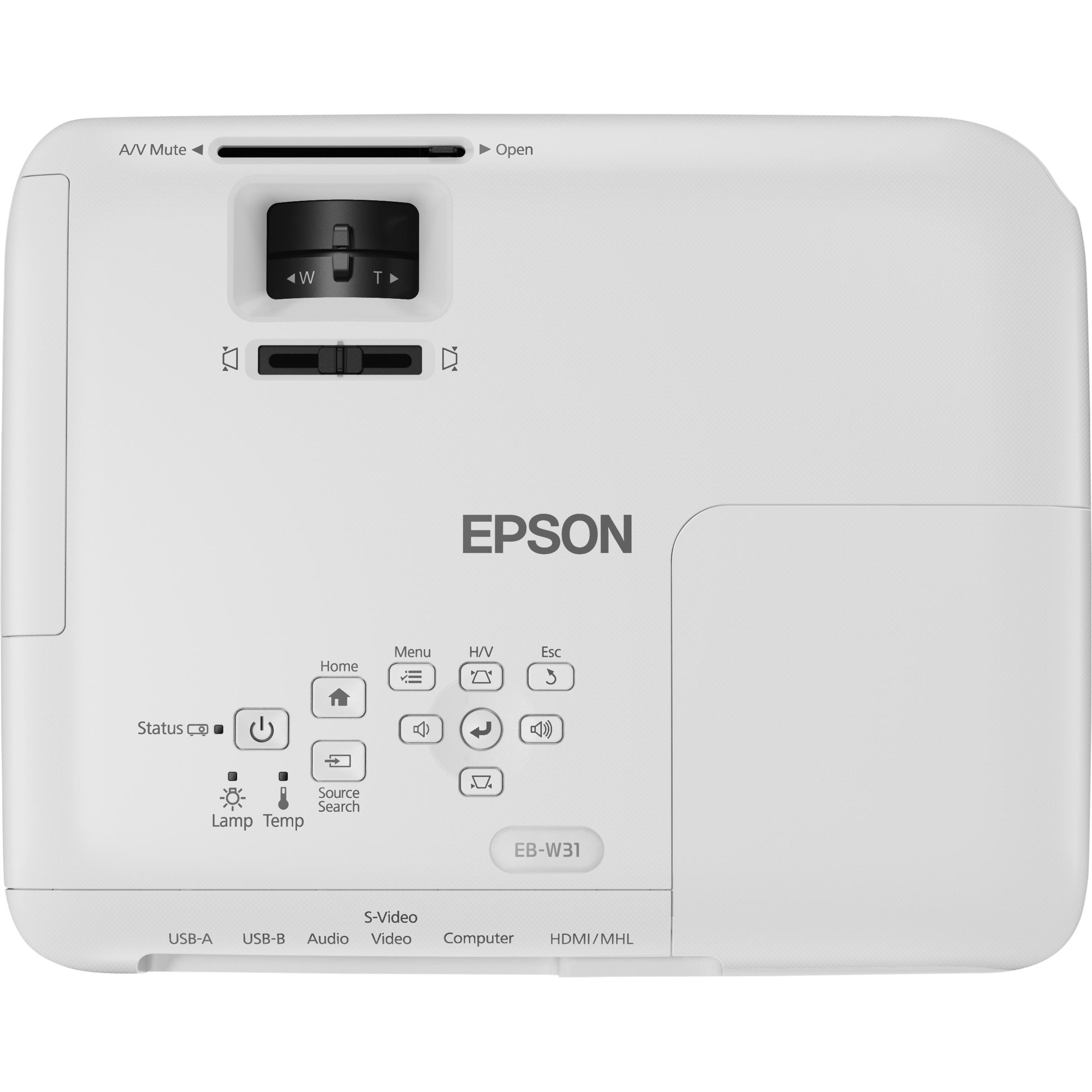 Epson EB-W31 LCD Projector - HDTV - 16:10