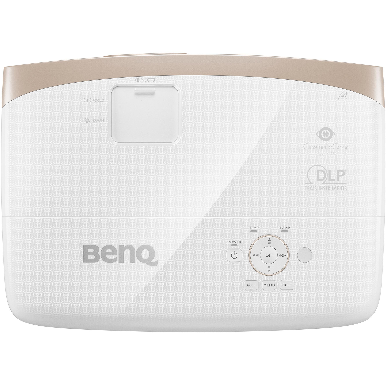 BenQ W2000 3D Ready DLP Projector - 1080p - HDTV - 16:9