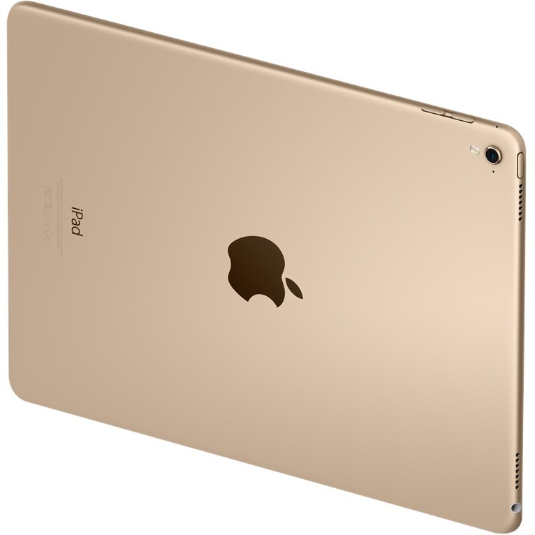 Apple iPad Pro Tablet - 24.6 cm 9.7inch - Apple A9X Dual-core 2 Core - 32 GB - iOS 9 - 2048 x 1536 - Retina Display, In-plane Switching IPS Technology - Gold - 4: