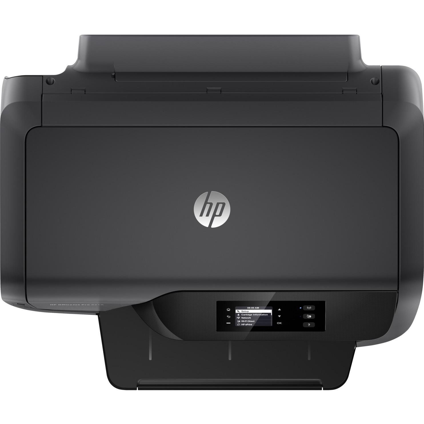 hp officejet pro 8210 inkjet printer monochrome 2400 x 1200 dpi print plain paper print. Black Bedroom Furniture Sets. Home Design Ideas