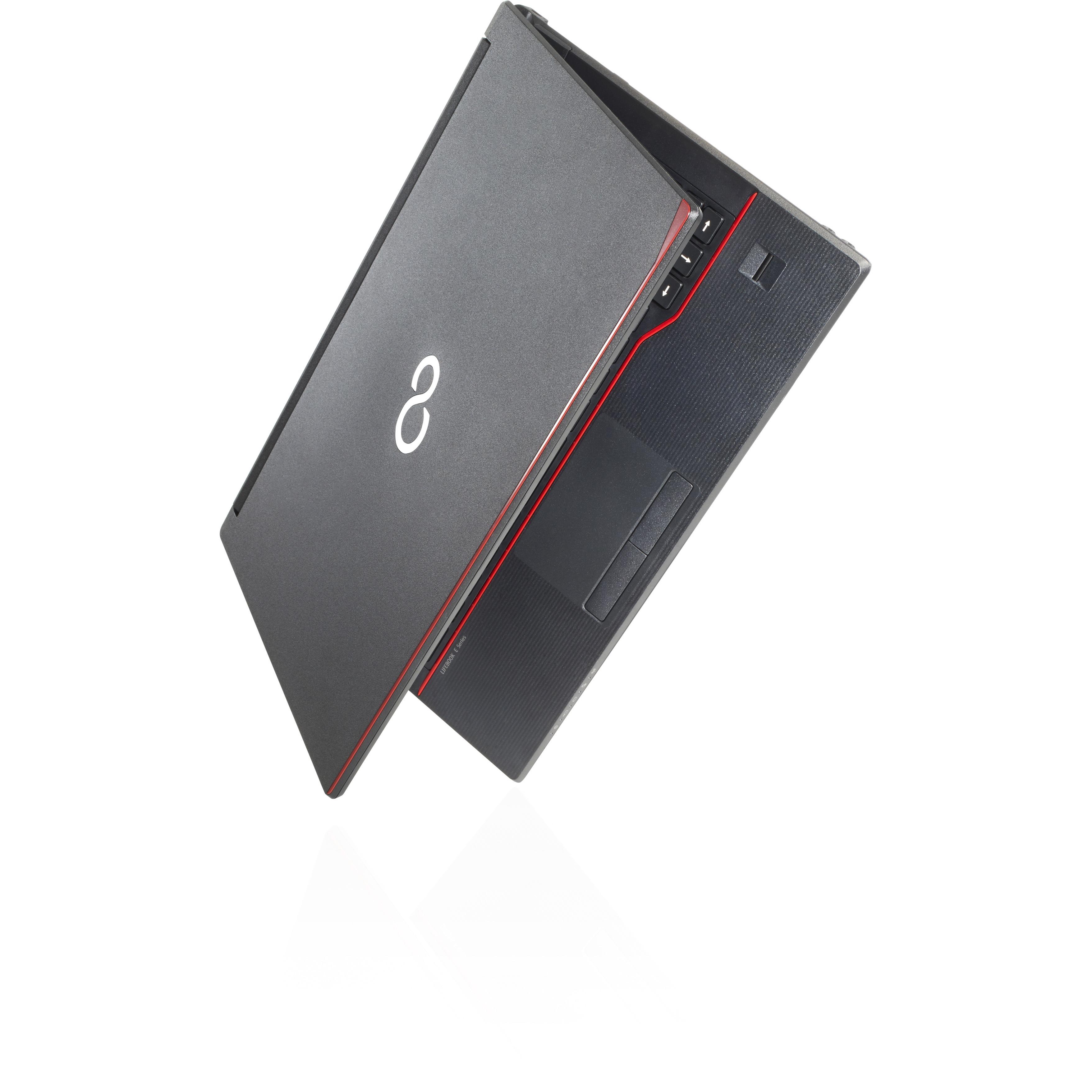 Fujitsu LIFEBOOK E547 35.6 cm 14inch LCD Notebook - Intel Core i5 7th Gen i5-7200U Dual-core 2 Core 2.50 GHz - 4 GB DDR4 SDRAM - 128 GB SSD - Windows 10 Pro 64-bi