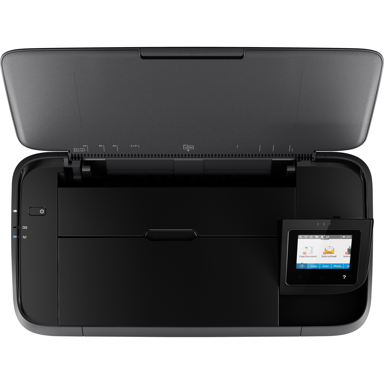 HP Officejet 250 Inkjet Multifunction Printer - Color - Plain Paper