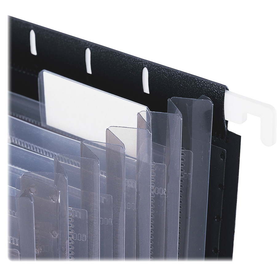 "10 Pk Smead Poly Expanding File Pockets Jackets 1/"" Expansion"