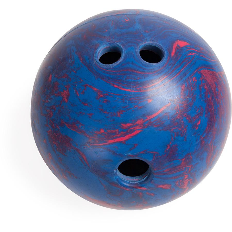 Champion Sports Plastic Pin Bowling Ball Set