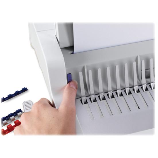 """Plastic Comb Bindings 5//8/"""",120 Sheet Capacity,100//PK,BK FEL52327"""
