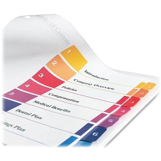 Avery® Ready Index Binder Dividers