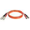 Tripp Lite 2M Duplex Multimode 62.5/125 Fiber Optic Patch Cable Sc/st 6