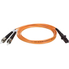 Tripp Lite 1M Duplex Multimode 62.5/125 Fiber Optic Patch Cable Mtrj/st 3