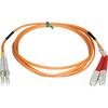 Tripp Lite 3M Duplex Multimode 50/125 Fiber Optic Patch Cable Lc/sc 10