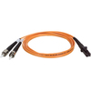 Tripp Lite 3M Duplex Multimode 62.5/125 Fiber Optic Patch Cable Mtrj/st 10