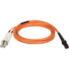 Tripp Lite 2M Duplex Multimode 62.5/125 Fiber Optic Patch Cable Mtrj/lc 6
