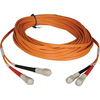 Tripp Lite 3M Duplex Multimode 50/125 Fiber Optic Patch Cable Sc/sc 10