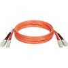 Tripp Lite 1M Duplex Multimode 62.5/125 Fiber Optic Patch Cable Sc/sc 3
