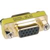 Tripp Lite Compact / Slimline Vga Video Coupler Gender Changer (f/f) P160-000 00037332011824