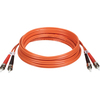 Tripp Lite 3M Duplex Multimode 62.5/125 Fiber Optic Patch Cable St/st 10