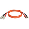 Tripp Lite 1M Duplex Multimode 62.5/125 Fiber Optic Patch Cable Sc/st 3