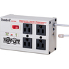 Tripp Lite Isobar Surge Protector Metal RJ11 4 Outlet 6