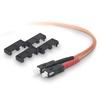 Belkin Fiber Optic Duplex Patch Cable A2F20277-02M 00722868233979