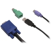 Avocent PS2/USB Kvm Cable With Usb To PS/2 Adapter CBL0029 00636430039732