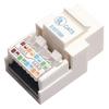 Startech.com Cat5e Modular Keystone Jack White - Tool-less KEYSTONE2WH 00065030783170