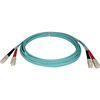 Tripp Lite 1M 10Gb Duplex Multimode 50/125 OM3 Lszh Fiber Optic Patch Cable Sc/sc Aqua 3
