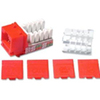C2G Cat6 RJ45 Utp Keystone Jack - Red 29314 00757120293149